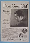 Vintage Ad: 1931 Lux Toilet Soap w/ John Boles