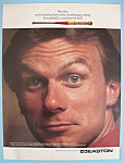 Click here to enlarge image and see more about item 11365: Vintage Ad: 1991 Easton w/ Joe Montana