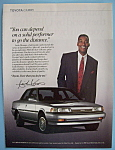 Click here to enlarge image and see more about item 11370: Vintage Ad: 1990 Toyota Camry w/ Isiah Thomas
