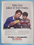 Click here to enlarge image and see more about item 11376: Vintage Ad: 1988 Lionel Trains
