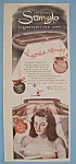 Click here to enlarge image and see more about item 11403: Vintage Ad: 1947 Star Glo Fluorescent Bed Lamp
