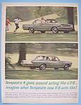 Vintage Ad: 1962 Pontiac Tempest