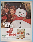 Vintage Ad: 1962 Sunny Brook Bourbon Whiskey