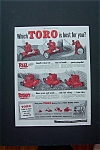 1954 Toro Lawn Mower with 2 Different Lawn Mowers