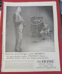 Click here to enlarge image and see more about item 11428: Vintage Ad: 1957 Home Insurance with Jack Benny