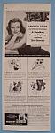 Vintage Ad: 1940 Woodbury Cold Cream w/ Andrea Leeds