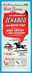 1949 Walt Disney's Ichabod & Mister Toad with Men