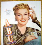 Click to view larger image of Vintage Ad: 1947 Chesterfield Cigarettes w/Ann Sheridan (Image2)
