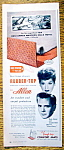Vintage Ad: 1957 Allen Rubber Top with Lucille Ball