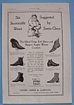 Click here to enlarge image and see more about item 11508: Vintage Ad: 1895 Alfred Dolge's Felt Slippers & Shoes
