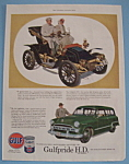 Click here to enlarge image and see more about item 11517: Vintage Ad: 1953 Gulfpride H.D. Motor Oil