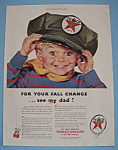 Click here to enlarge image and see more about item 11520: Vintage Ad: 1953 Texaco