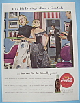 Click here to enlarge image and see more about item 11550: Vintage Ad: 1946 Coca - Cola
