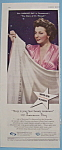 Vintage Ad: 1944 North Star Blanket with Laraine Day