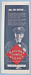 Click here to enlarge image and see more about item 11560: Vintage Ad: 1943 Railway Express Agency