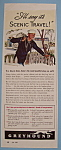 Click here to enlarge image and see more about item 11570: Vintage Ad: 1943 Greyhound