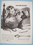 Click here to enlarge image and see more about item 11592: Vintage Ad: 1944 Community Silverplate