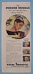 Vintage Ad: 1946 Kreml Shampoo w/ Powers Models