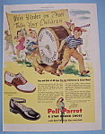 Vintage Ad: 1946 Poll - Parrot Shoes