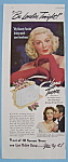 Vintage Ad: 1946 Lux Toilet Soap with Lana Turner