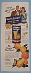Vintage Ad: 1949 Heart's Delight Apricot Nectar