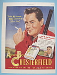 1949 Chesterfield Cigarettes with Glenn Ford