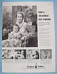 Vintage Ad: 1949 Jergens Lotion w/ Igor Cassini