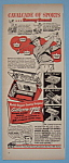 Click here to enlarge image and see more about item 11644: Vintage Ad: 1950 Gillette Razor w/Sammy Snead