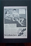 1950's Buster Brown Shoes with Boy & Girl Sitting