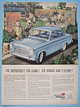 Vintage Ad: 1959 English Ford Line