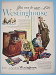 Click here to enlarge image and see more about item 11666: Vintage Ad: 1948 Westinghouse by Albert Dorne