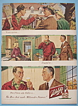 Click here to enlarge image and see more about item 11668: Vintage Ad: 1948 Schlitz Beer