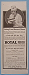 Click here to enlarge image and see more about item 11687: Vintage Ad: 1918  Royal Baking Powder