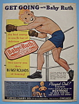 Click here to enlarge image and see more about item 11691: Vintage Ad: 1939 Baby Ruth Candy Bar