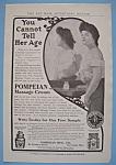 Vintage Ad: 1906 Pompeian Massage Cream