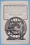 Click here to enlarge image and see more about item 11793: Vintage Ad: 1906  20th Century Limited
