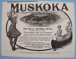 Click here to enlarge image and see more about item 11815: Vintage Ad: 1905 The Royal Muskoka Hotel