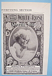 Vintage Ad: 1905 White Rose Glycerine Soap