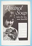 Vintage Ad: 1916 Resinol Soap