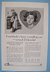 Click here to enlarge image and see more about item 11831: Vintage Ad: 1924 Elgin Watch