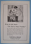 Click here to enlarge image and see more about item 11832: Vintage Ad: 1924 Copper & Brass Research Association