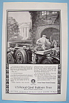 Vintage Ad: 1924 U. S. Royal Cord Balloon Tires