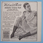 Vintage Ad: 1913 Wilson Bros Athletic Union Suit
