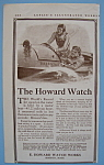Click here to enlarge image and see more about item 11843: Vintage Ad: 1913 Howard Watch