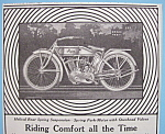 Click here to enlarge image and see more about item 11845: Vintage Ad: 1913 Pope Motorcycles