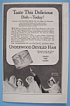 1914 Underwood Deviled Ham w/Halloween Hi-Jinks