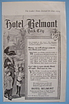 Click here to enlarge image and see more about item 11858: Vintage Ad: 1914 Hotel Belmont