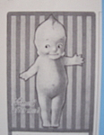 Click to view larger image of Vintage Ad: 1914 Kewpie Garter (Image1)