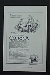 Vintage Ad: 1917 Corona Personal Writing Machine