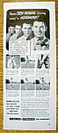 Click to view larger image of Vintage Ad: 1940 Bromo-Seltzer with Ben Hogan (Image1)
